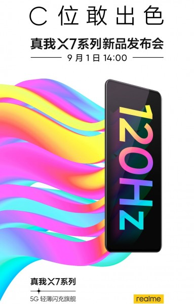 Realme X7 and Realme X7 Pro Are Launching On September 1 In China 2