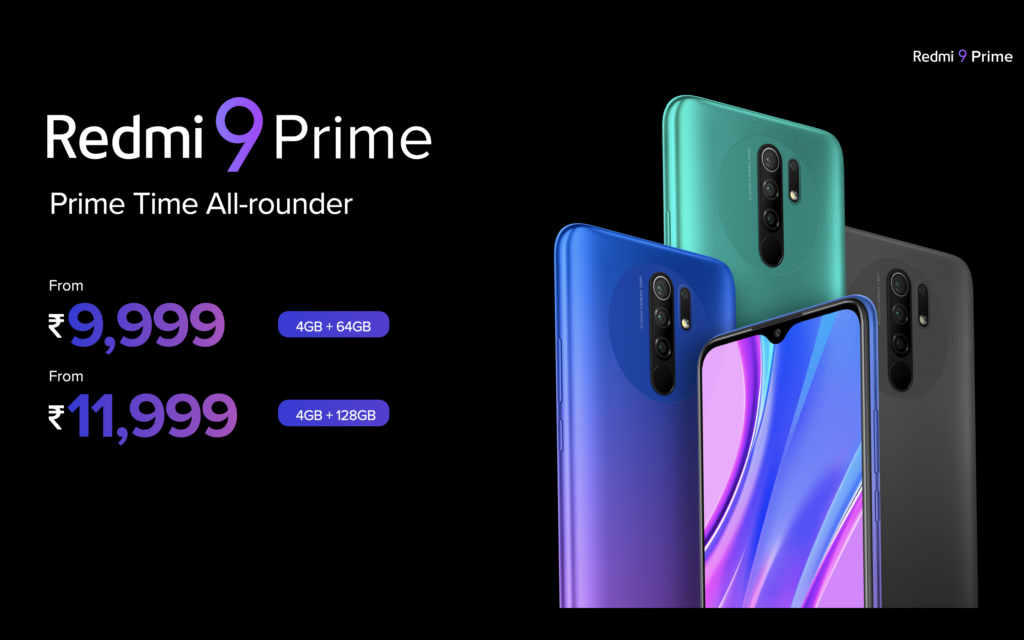 Redmi 9 Prime With Quadruple Cameras and Helio G80 SoC Launched In India