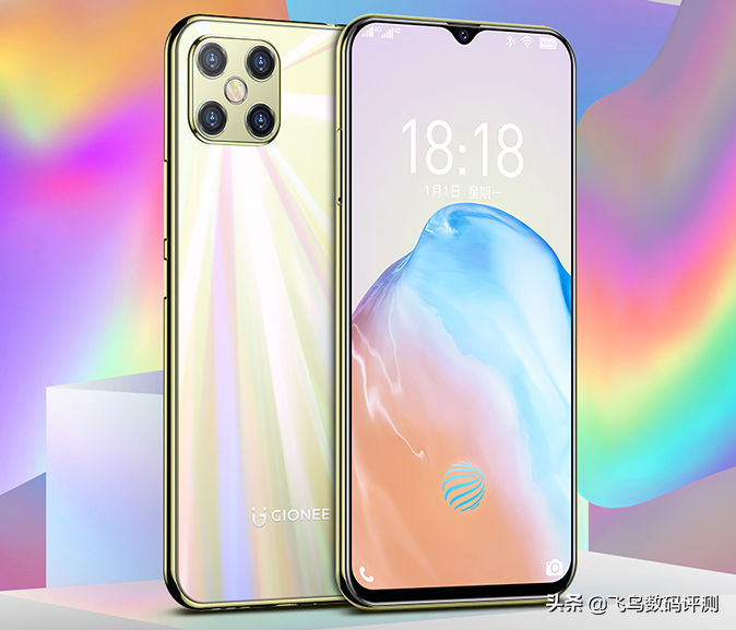 Gionee M12 Pro With In-display Fingerprint Scanner Launched For Just CNY 700($102)