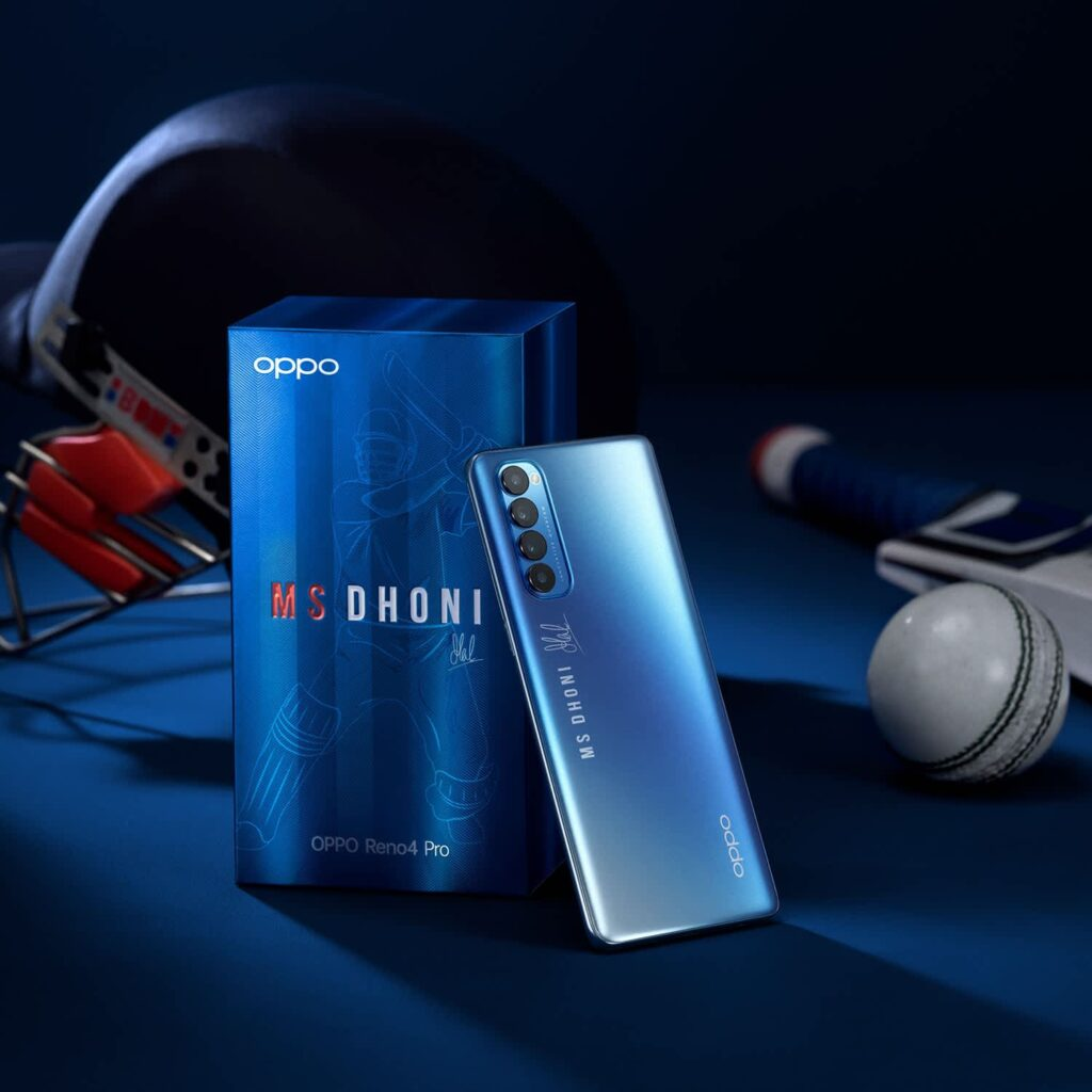 Oppo Reno4 Pro Special Edition MS Dhoni Phone Launched In India