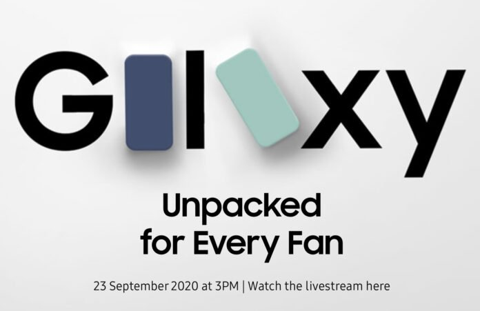 Samsung Galaxy S20 FE Launch Scheduled For September 23
