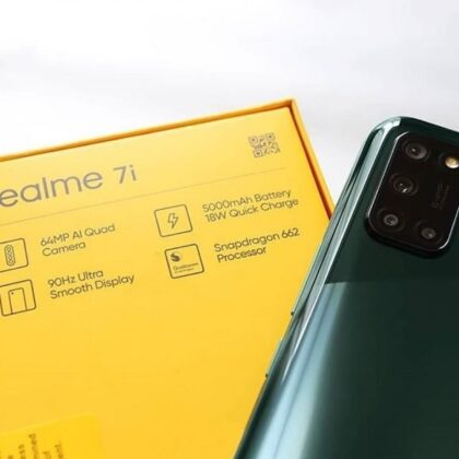 Realme 7i Hands-On Images Leaked Hours Before The Launch