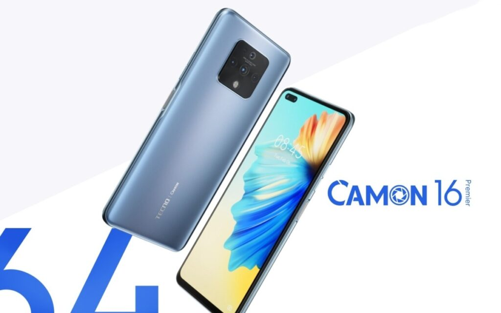 Tecno Camon 16 Premier Unveiled With 90Hz Display, 64MP Quadruple Cameras, and 33W Fast Charging