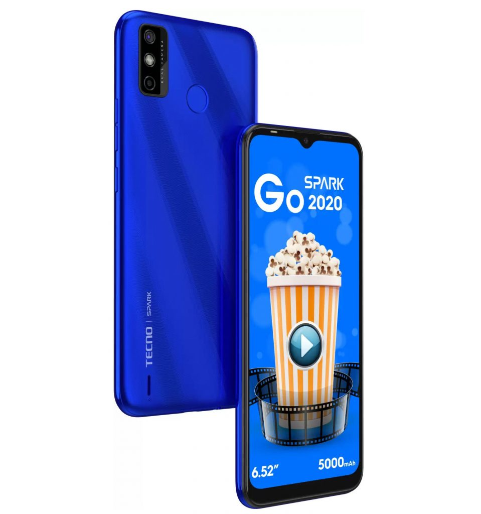 Tecno Spark Go 2020 With Android Go OS Launched For ₹6,499(~$90)
