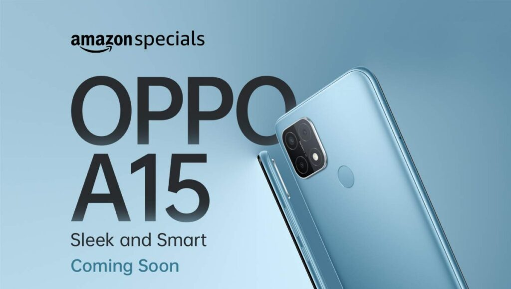 Oppo A15 is Launching Soon In India With Triple Rear Cameras