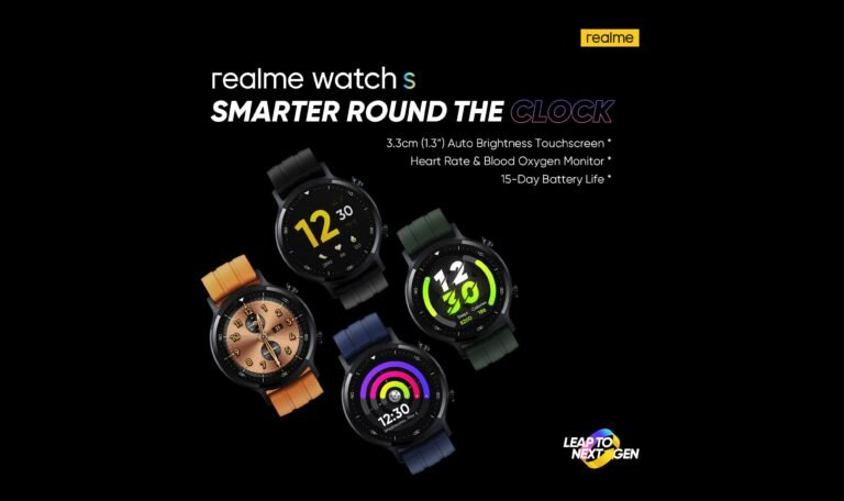 Realme Watch S Will Launch On November 2 In Pakistan