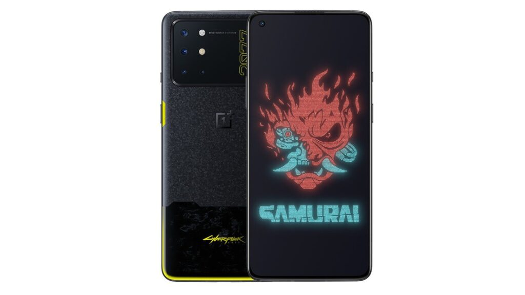 Buy The OnePlus 8T CyberPunk 2077 Edition for $799 On Giztop Shop