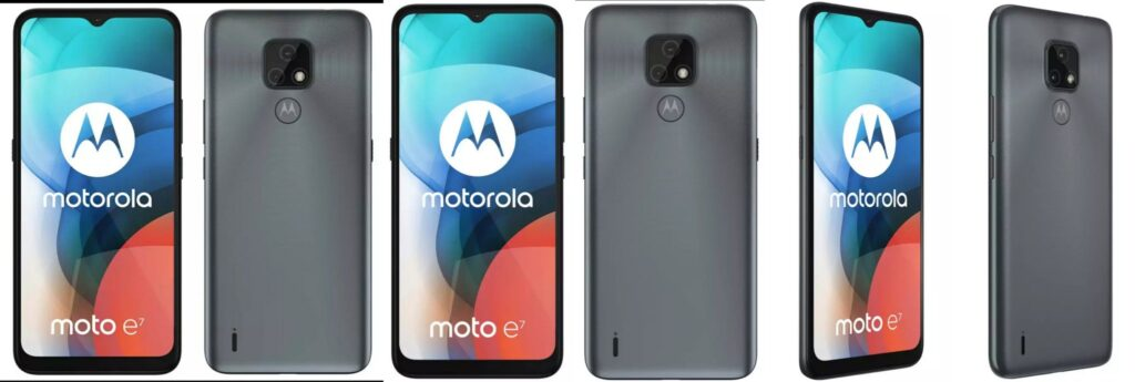 Moto E7 Renders Surfaced Online