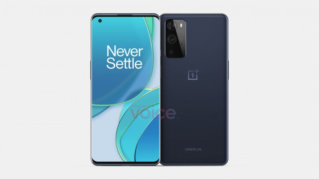 OnePlus 9 Pro Appears In Fresh Renders Flaunting Its Curved Punch-Hole Display