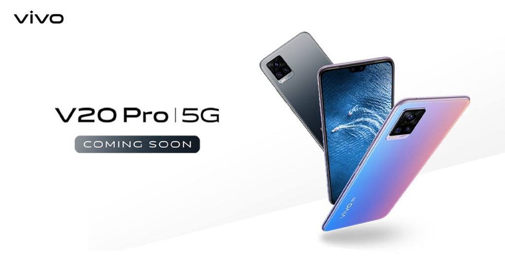 Vivo V20 Pro 5G Smartphone To Launch On December 2 In India
