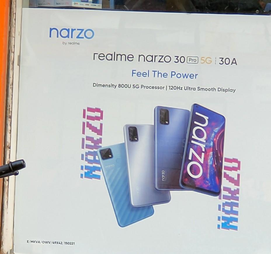 Realme Narzo 30 Series Teased On Flipkart, Poster Leak Reveals Specs