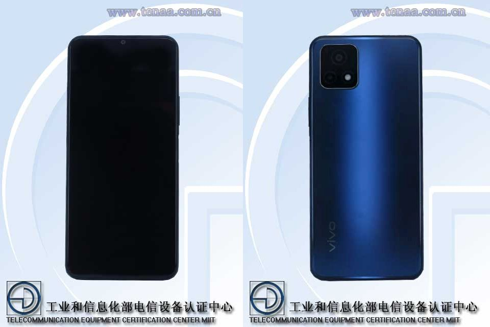 Vivo V2068A Emerges On TENAA Revealing Specs and Design