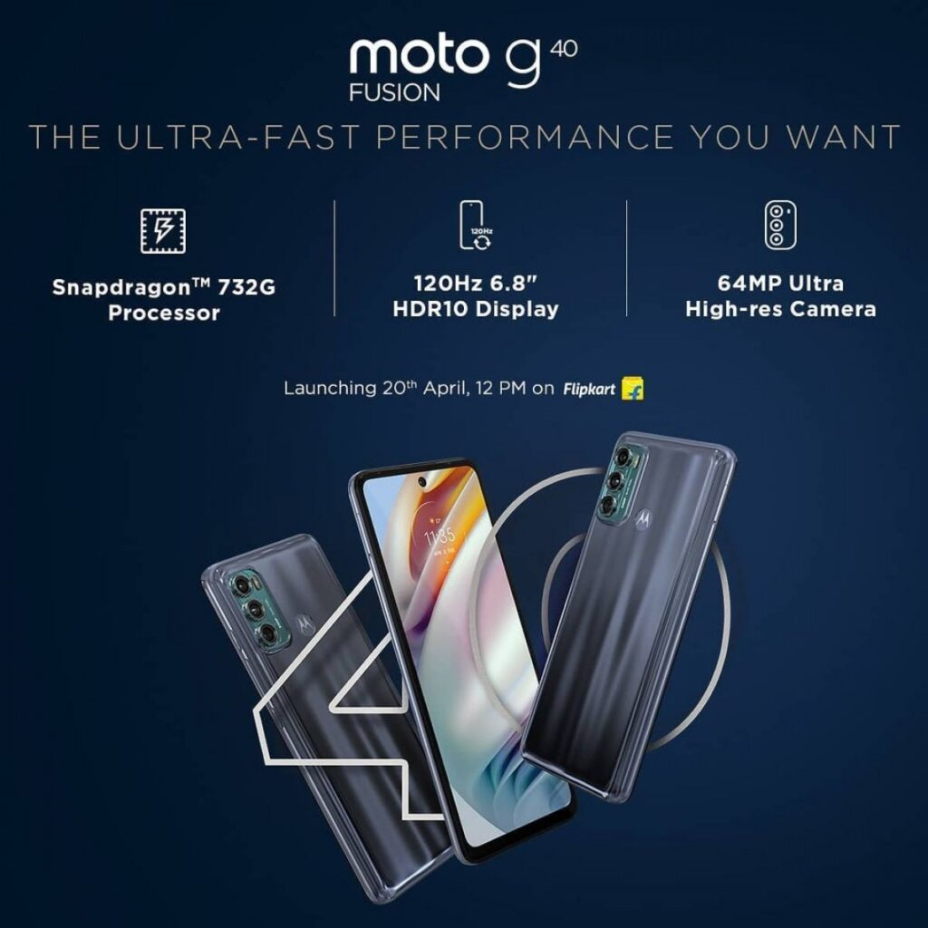 Moto G60 and Moto G40 Indian Launch Scheduled for April 20, Key Specs Revealed