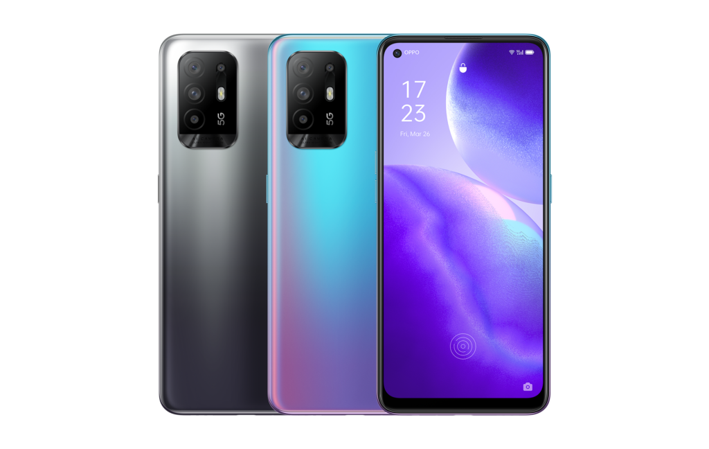 Oppo Reno5 Z with Dimensity 800U and Quadruple Cameras Launched for $395