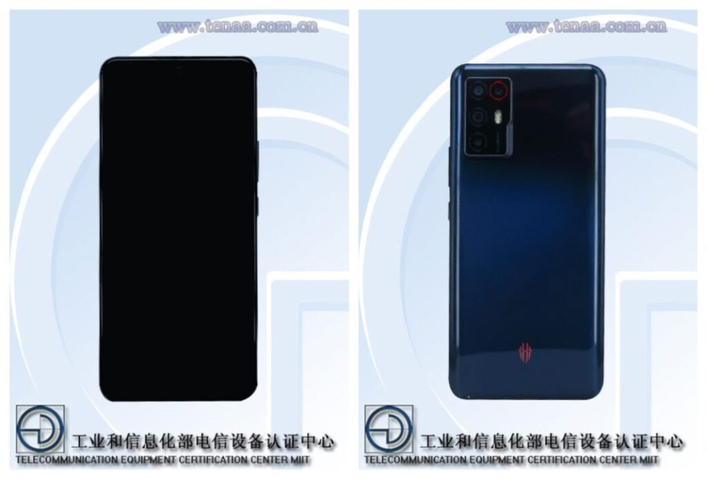 RedMagic NX666J Spotted on TENAA with an OLED Panel and 5G Chipset