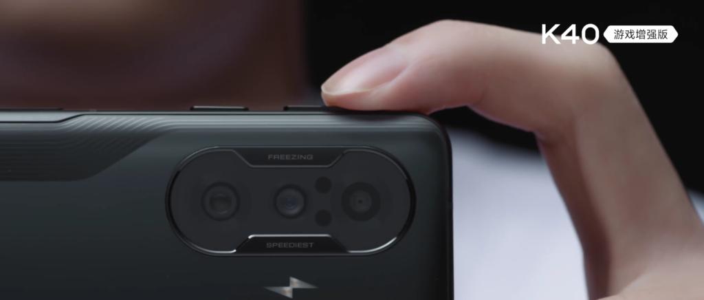 Redmi K40 Game Enhanced Edition Shoulder Buttons Teased, Scores 724,495 on AnTuTu