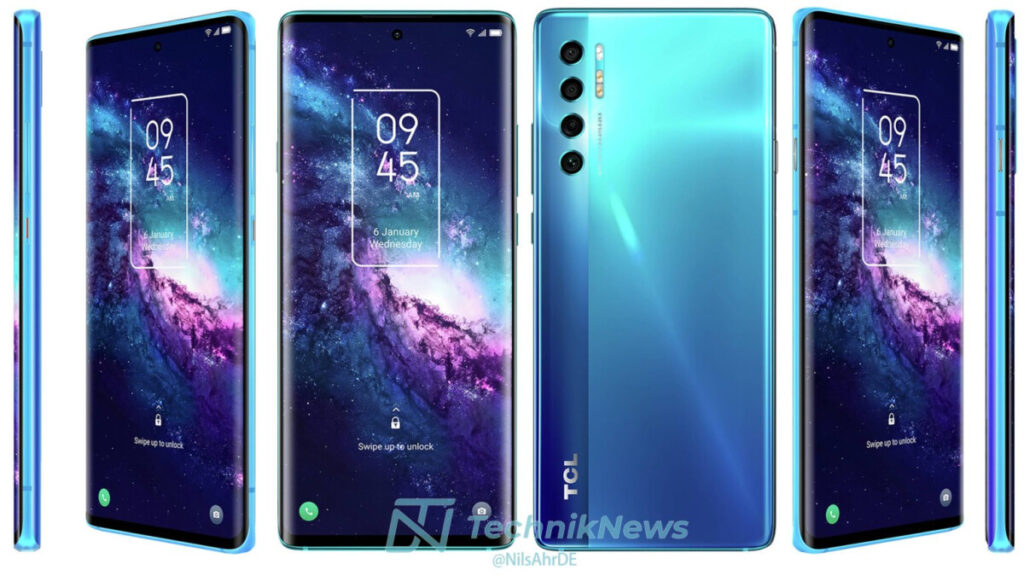 TCL 20L and TCL 20 Pro 5G Full Specs and Renders Leaked