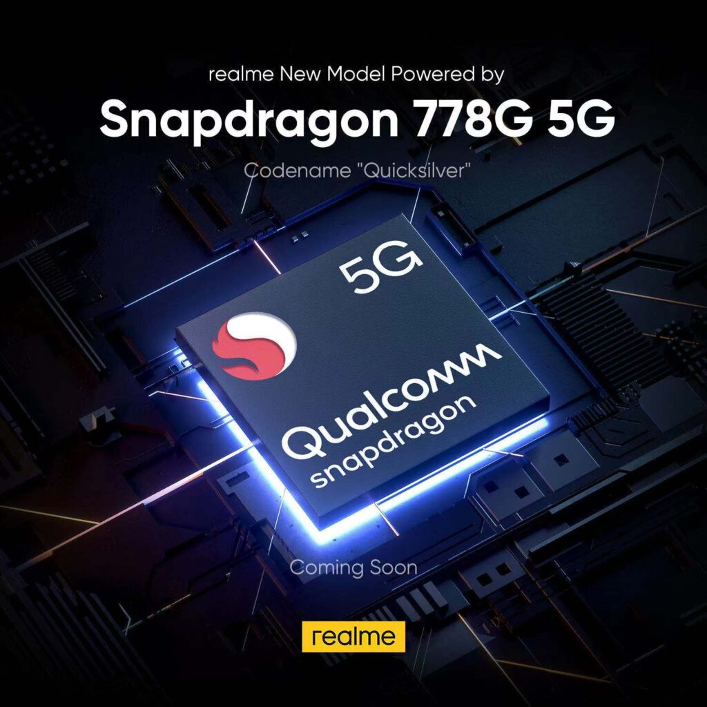 Realme Will Launch a Phone Codenamed 'QuickSilver' Powered by Snapdragon 778G and these Specs